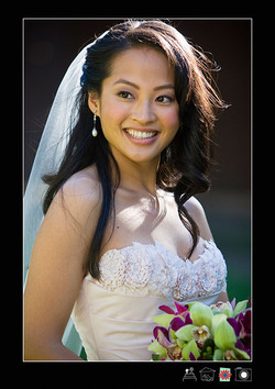 Pretty makeup for Asian brides
