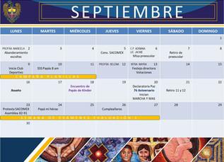 Calendario Ciclo Escolar 2019 - 2020