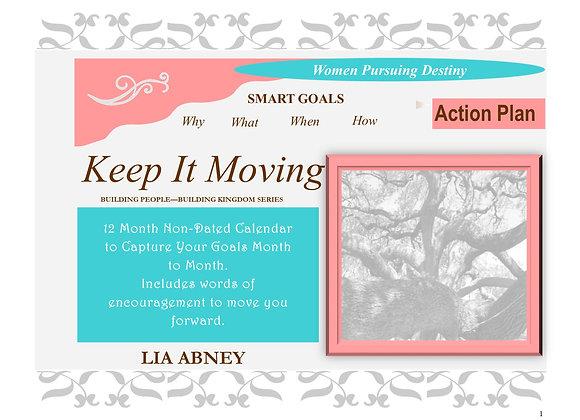 Keep It Moving Action Plan Calendar (PDF)