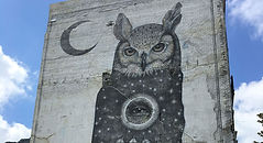 Mural Downtown Fayetteville