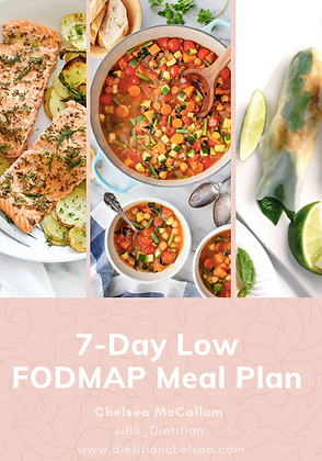 7-Day Low FODMAP Meal Plan & Recipes