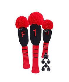 funny-bigteeth-adjustable-golf-knit-red-