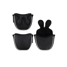 bigteeth-black-mallet-putter-head-cover-