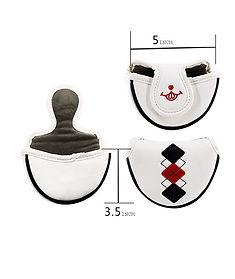 white-Big-Teeth-Golf-Headcovers-Head-Cov