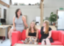 A picture of the Purely Personal Marketing team, a digital marketing agency based in Somerset.