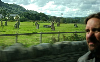 stones circle on the road.JPG