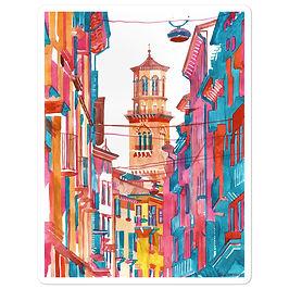 """Stickers """"Verona Street"""" by Takmaj"""