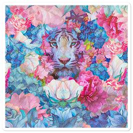"Stickers ""Wild Springtime"" by phatpuppyart-studios"