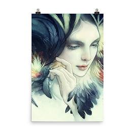 "Poster ""Tavuk"" by Escume"
