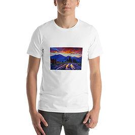 """T-Shirt """"Evening 3"""" by Gudzart"""