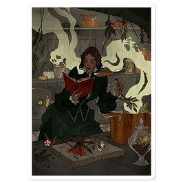 "Stickers ""Poisonous Plants"" by AbigailLarson"