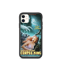 """iPhone case """"The Corpse King"""" by JeffLeeJohnson"""