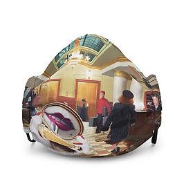 "Mask ""Grand International Hotel"" by JeffLeeJohnson"