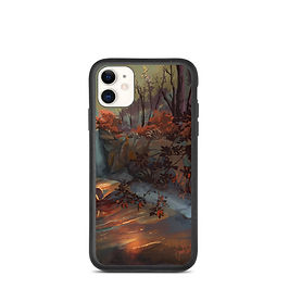 """iPhone case """"Whitney Falls"""" by chateaugrief"""