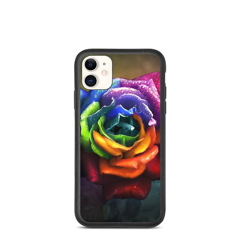"""iPhone case """"Rainbow Dream Rose"""" by Lilyas"""