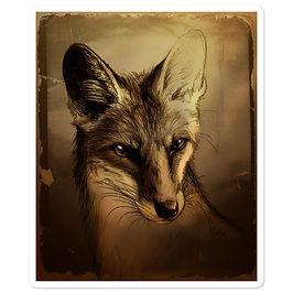 """Stickers """"Fuchs"""" by Culpeo-Fox"""