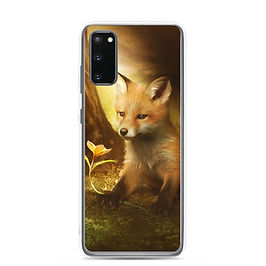 """Samsung Case """"Little Fox and the flowers"""" by ElenaDudina"""