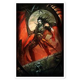 """Stickers """"Vampire"""" by el-grimlock"""
