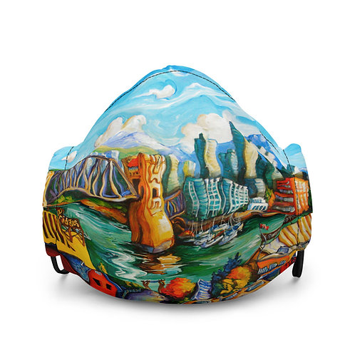 """Mask """"Granville Island"""" by LauraZee"""