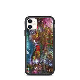 "iPhone case ""My Japanese Garden"" by phatpuppyart-studios"
