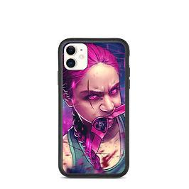 "iPhone case ""Magenta Rage"" by DasGnomo"