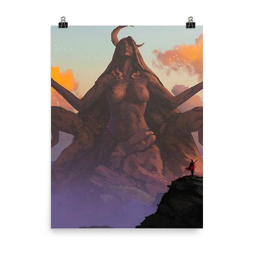 "Poster ""The King's Journey"" by Anatofinnstark"