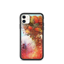 """iPhone case """"Compassion"""" by Aegis-Illustration"""