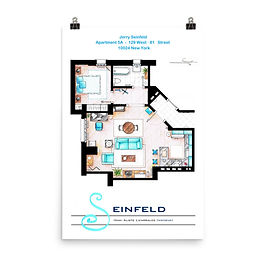 """Poster """"Seinfeld"""" by NikNeuk"""