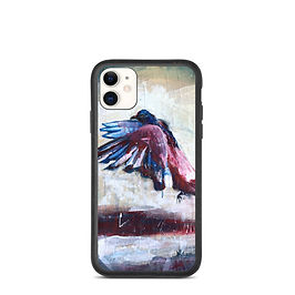 """iPhone case """"City Bird"""" by MikeOncley"""