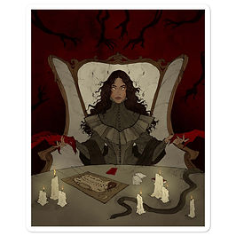 "Stickers ""Summoning"" by AbigailLarson"
