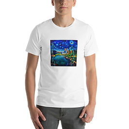 """T-Shirt """"Lions Gate Night Out"""" by LauraZee"""