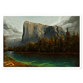 """Stickers """"El Capitan 2"""" by chateaugrief"""