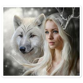 "Stickers ""Winter Somewhere"" by ElenaDudina"
