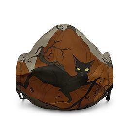"Mask ""Black Cat"" by AbigailLarson"