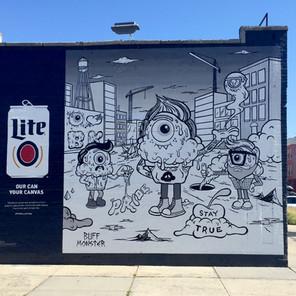 Miller Lite Mural