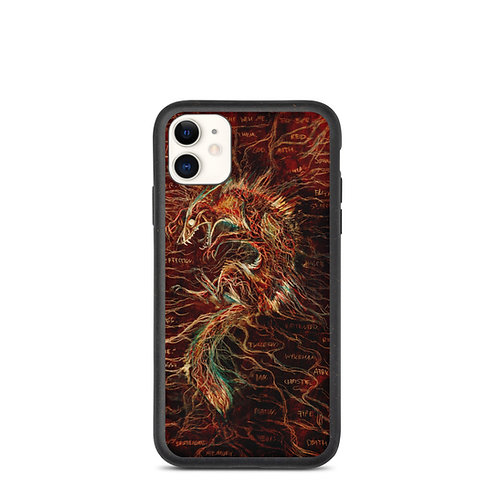"""iPhone case """"The Cry of Pain"""" by Culpeo-Fox"""