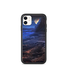 """iPhone case """"Sculptured Beach"""" by chateaugrief"""