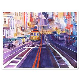 """Stickers """"San Francisco"""" by Takmaj"""