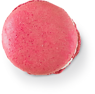 A pink macaroon