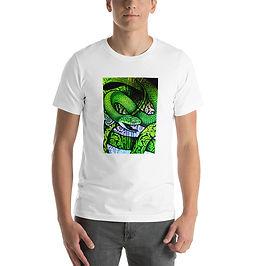 "T-Shirt ""Green Cat Snake"" by Culpeo-Fox"