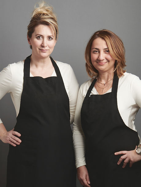 Founders of Le Cake Boutique — Serap and Elif