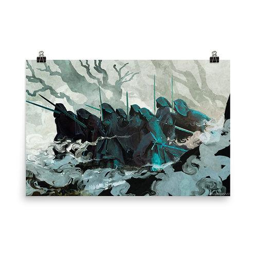 """Poster """"The Nine"""" by Anatofinnstark"""