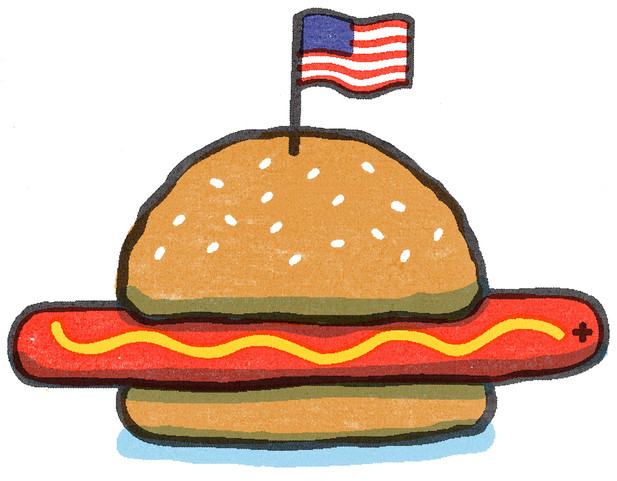 The most American thing I've ever drawn.