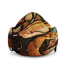 "Mask ""Reticulated Python"" by Culpeo-Fox"