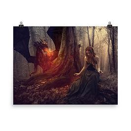 "Poster ""The Dragon Tamer"" by phatpuppyart-studios"