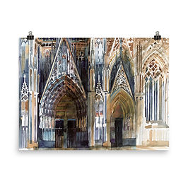 """Poster """"Koin Cathedral"""" by Takmaj"""
