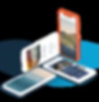 モバイル版ホームページ制作例
