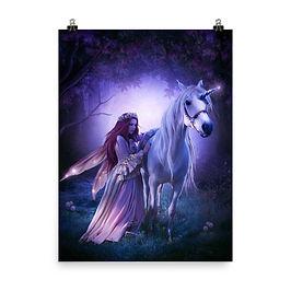 "Poster ""Unicorn"" by ElenaDudina"