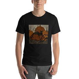 "T-Shirt ""Black Cat"" by AbigailLarson"