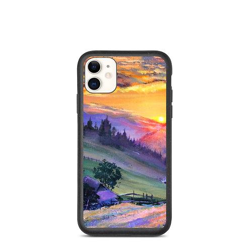 """iPhone case """"Evening 4"""" by Gudzart"""